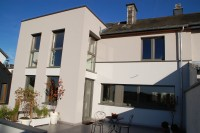 extension transformation renovation Arlon Dupont architecte toit plat Elma Fertons Brix ArtFac Hubermont 1