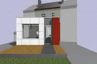 Kock architecte transformation extension Arlon 1