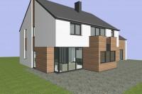 maison habitation Hondelange Arlon architecte bardage cèdre contemporrain 1