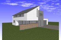 Thomas construction maison habitation Léglise basse énergie photovoltaïque architecte contemporrain 1