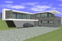 Transformation d'une habitation basse energie à Toernich Arlon architecte Arlon Bouchat Robert pierre naturelle crépi isolant 1