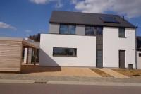 architecte Arlon construction habitation ossature bois Poskin Arlon architecture basse energie test étanchéité à l'air Elma construction Chimsco architecte Arlon 2