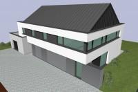 Y Hubert-Jamar-maison passive châssis alu stores duco renson triple vitrage architecte arlon cabinet dentiste 2