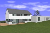 Brissson architecte Attert maison basse énergie entreprise Grandjean architecture contemporaine moderne x