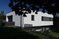 AAA Planchon maison passive Luxembourg Roodt contemporain triple vitrage Stiebel pompe à chaleur VMC pellet 8