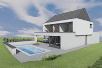 AA Willem Architecte Arlon Habay vielsalm maison passive basse énergie contemporaine piscine 4