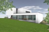 ZZZ lodato chastreux architecte Arlon maison passive contemporain basse énergie toiture plate pierre 2