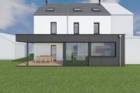 ZZZ Wautriche Architecte intérieur transformation maison basse énergie sainte-marie contemporain Trespa Eternit toit plat greniers combles aménagés jeux 2