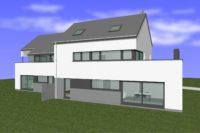 Résidence appartement architecte Saint-Léger Habitatlux basse énergie Deville GS construction Kévin Bilocq Artfac 1